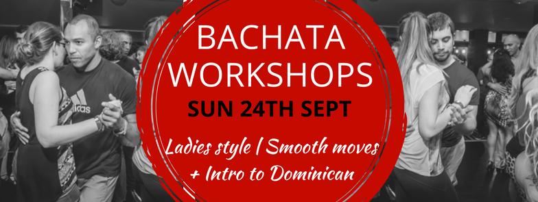 Bachata Workshops – 24 Sept