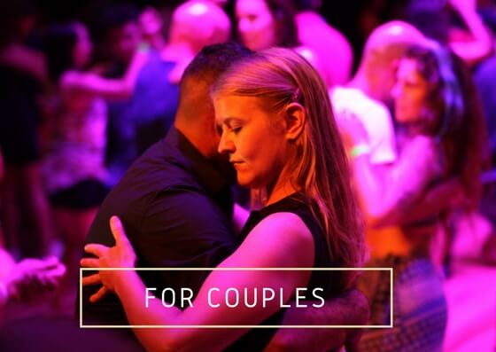 Private Latin dance lessons for couples
