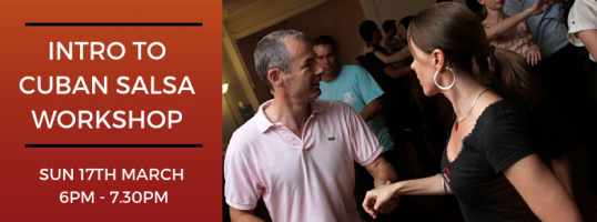 Cuban Salsa Workshop