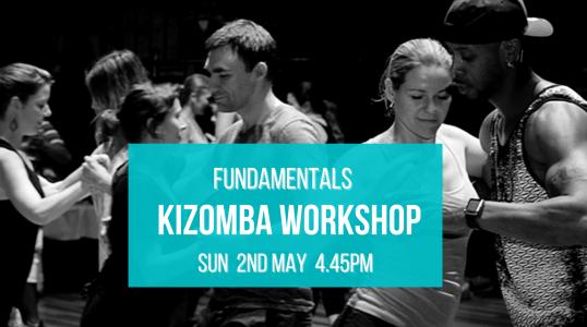 2nd May Kizomba Fundamentals Workshop